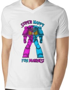SUPER FUN MARINES. Mens V-Neck T-Shirt
