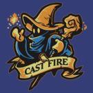 Cast Fire! by WinterArtwork