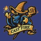 Cast Fire! by WinterArtwork