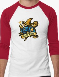 Cast Fire! Men's Baseball ¾ T-Shirt