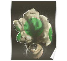 Mushroom Kingdom clicker [Green] - Mario / The Last of Us Poster