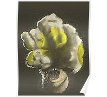 Mushroom Kingdom clicker [Yellow] - Mario / The Last of Us Poster