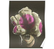 Mushroom Kingdom clicker [Pink] - Mario / The Last of Us Poster