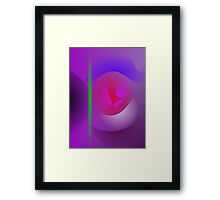 Purple Dharma Framed Print
