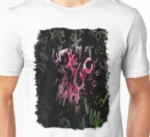 Pink Roses in Anzures 6 Letters 1 Unisex T-Shirt