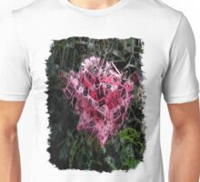 Pink Roses in Anzures 6 Letters 2 Unisex T-Shirt
