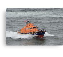 Offshore Lifeboat Canvas Print