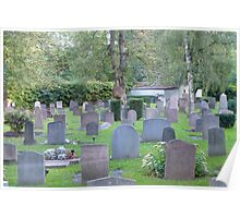 Nordic Cemetery Stockholm Sweden Poster