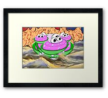 Someone Once Told Me that Our Ancestors used to Live in Water! Framed Print