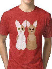 Chihuahuas Tri-blend T-Shirt