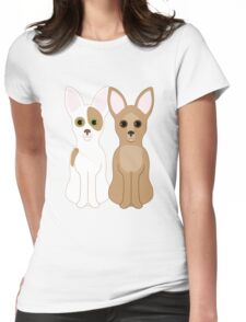 Chihuahuas Womens Fitted T-Shirt