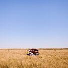 Badlands Parking Space 2 by Jeff Stubblefield