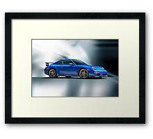 2013 Porsche Turbo Framed Print