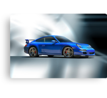 2013 Porsche Turbo Canvas Print