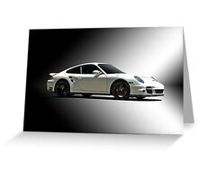2013 Porsche 911 Turbo 991 Greeting Card
