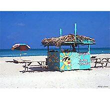 Beach Treats  Photographic Print