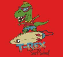 T-Rex Surf School One Piece - Short Sleeve