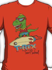 T-Rex Surf School T-Shirt