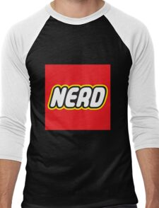 Playful Nerd  Men's Baseball ¾ T-Shirt