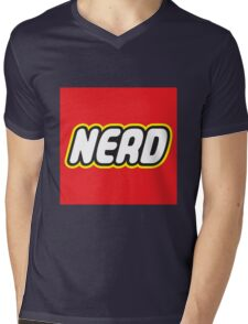 Playful Nerd  Mens V-Neck T-Shirt