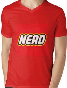 Playful Nerd  Mens V-Neck T-Shirt