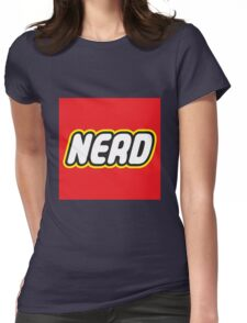 Playful Nerd  Womens Fitted T-Shirt