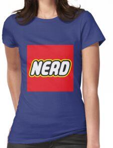 Playful Nerd  Womens Fitted T-Shirt