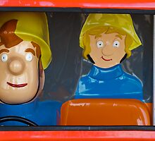 Fireman Sam Children's Ride by Heidi Stewart