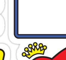 Tupacman Sticker