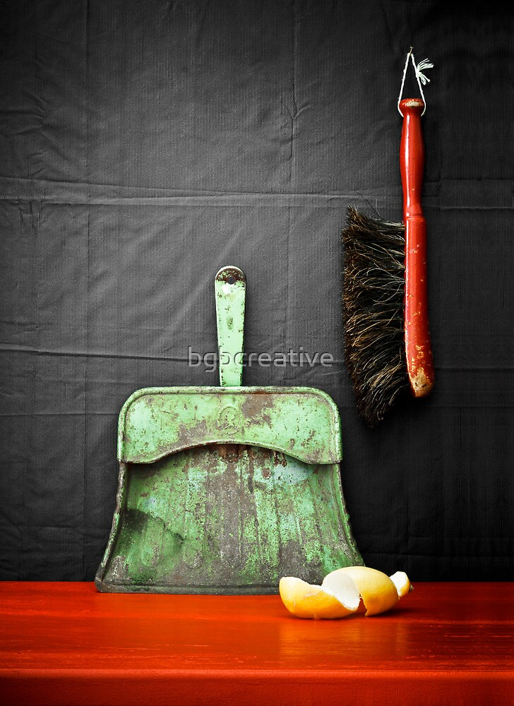Cleaning Up by bgbcreative