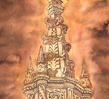 pináculo jerónimos. cruz latina by terezadelpilar~ art & architecture