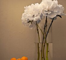 Peonies and Apricots by bgbcreative