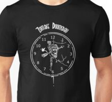 Zombie Doomsday (white ink on black shirt) T-Shirt