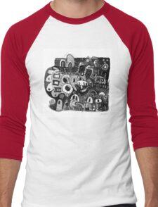 Yarn Of The Bones Men's Baseball ¾ T-Shirt