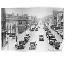 Vintage Downtown Dover Poster