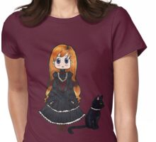 Gothic Lolita - No Text Womens Fitted T-Shirt