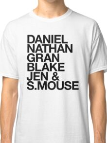 Angry Boys Character Tee Shirt Classic T-Shirt
