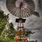 Old wind mill by mark bilham