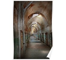 Jail - Eastern State Penitentiary - Endless torment Poster