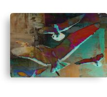 Birds in Flight Canvas Print
