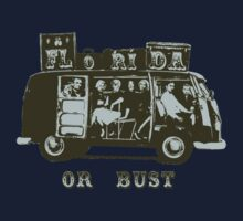 Florida Or Bust! Kids Tee