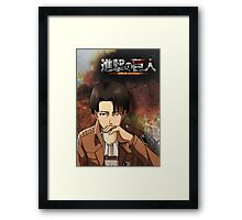 Levi Poster/Case Framed Print