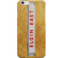 ELGIN EAST iPhone Case/Skin