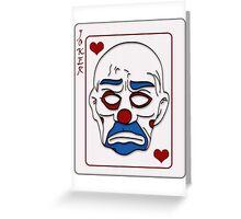 Joker Calling Card - Hand Drawn Greeting Card