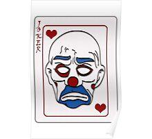 Joker Calling Card - Hand Drawn Poster