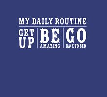 My Daily Routine Womens Fitted T-Shirt