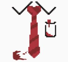 Shaun of the dead 8-bit fade blood by Kiuuby