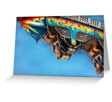 Carnival - Ride - The thrill of the carnival  Greeting Card