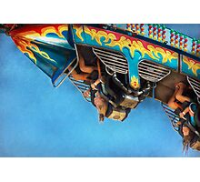 Carnival - Ride - The thrill of the carnival  Photographic Print
