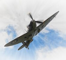 Supermarine Spitfire by Nigel Bangert